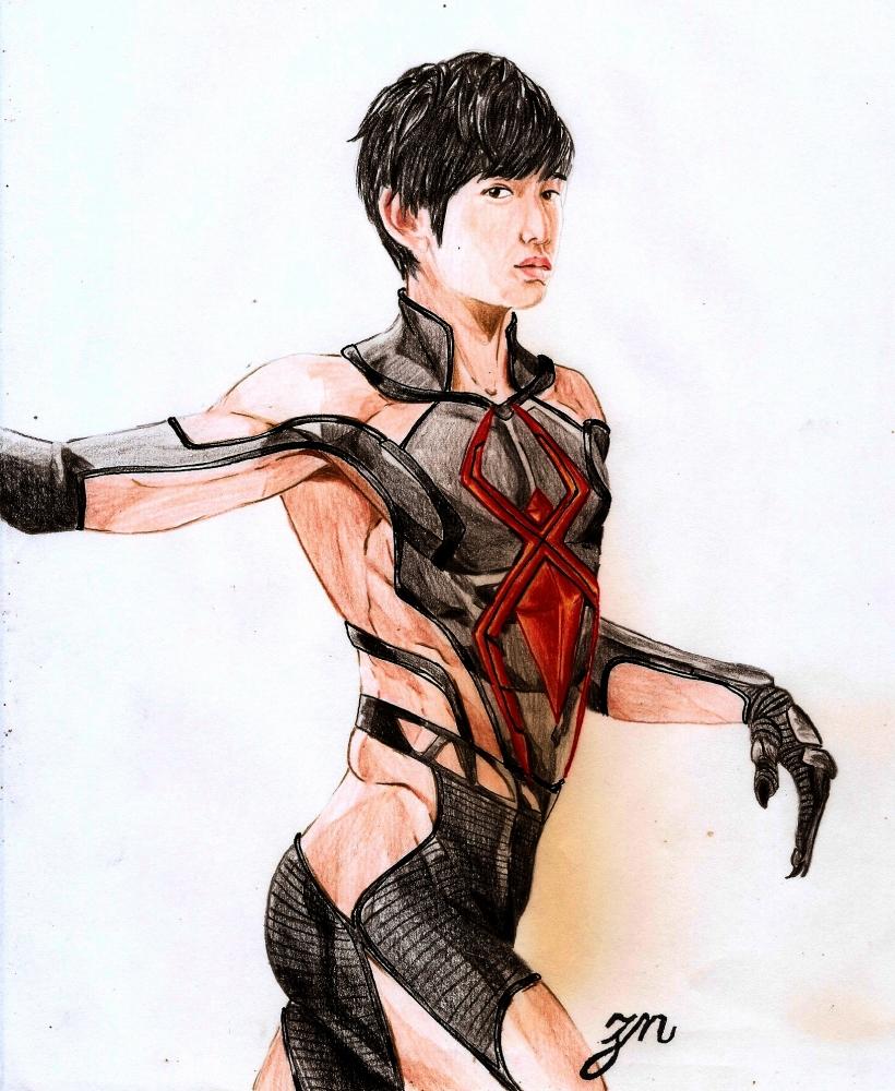 Kanata Hongō por Erni